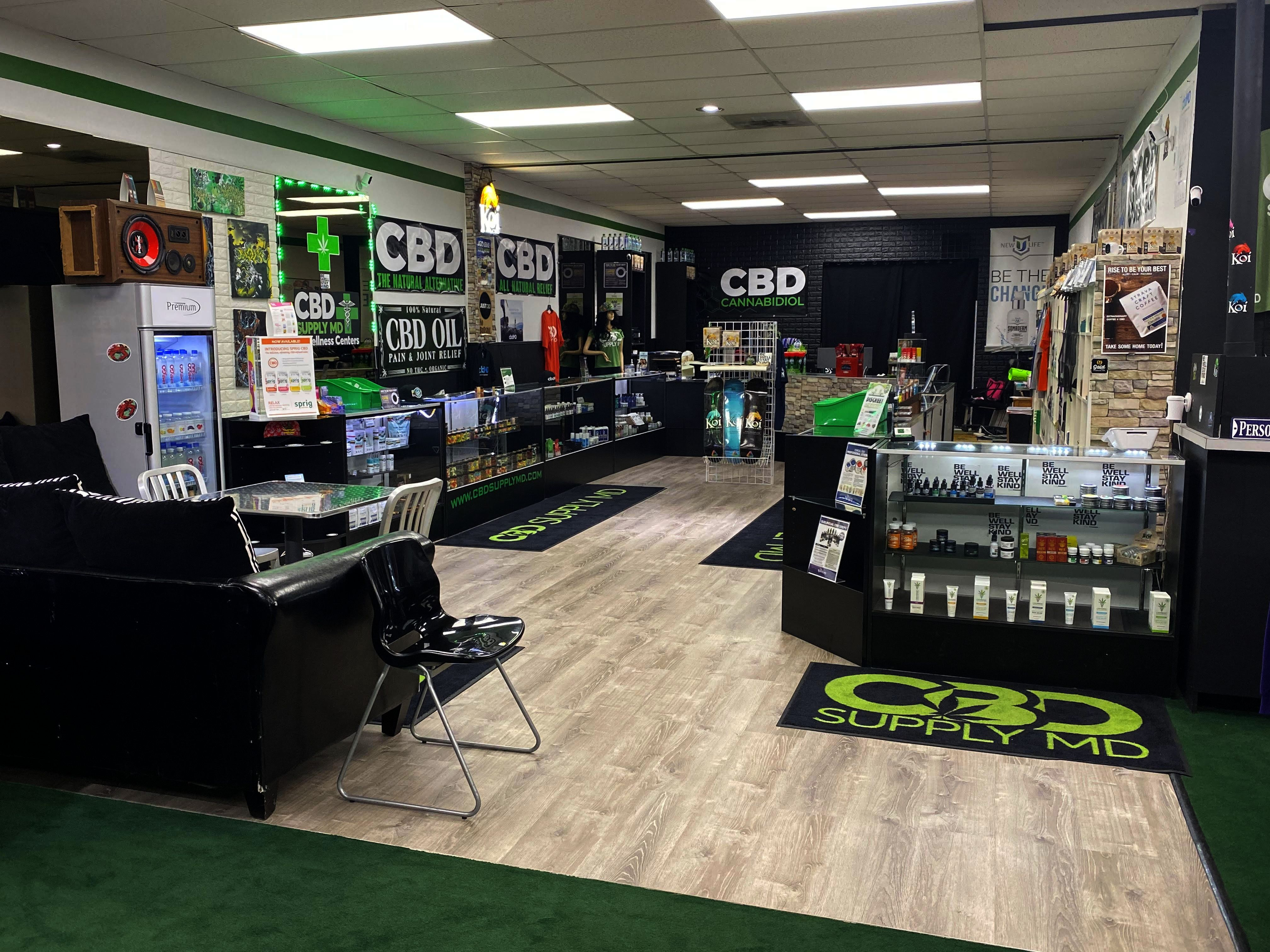 CBD Supply MD Store Locations | CBD Store Near Me